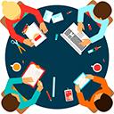 Хороший и дружный коллектив - вакансия менеджера по рекламе
